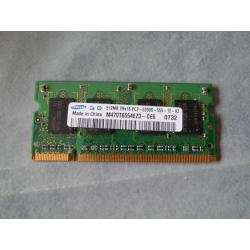 512Mb 2Rx16 PC2 5300S Samsung